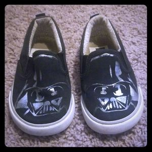 Baby gap Darth vader shoes